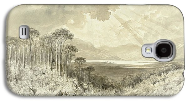 Scottish Landscape Galaxy S4 Case by Gustave Dore
