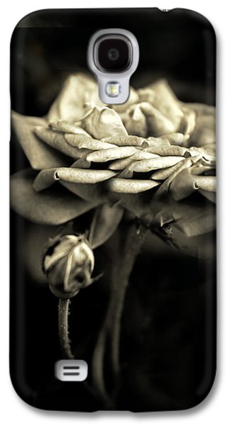 Sepia Rose Galaxy S4 Case by Jessica Jenney