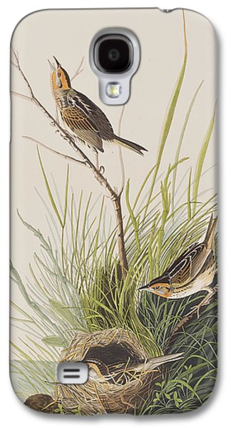 Sharp Tailed Finch Galaxy S4 Case by John James Audubon