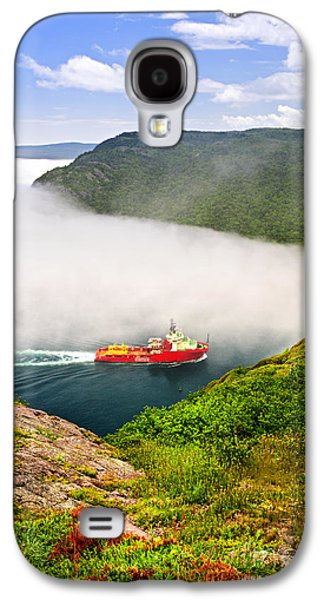 Ship Entering The Narrows Of St John's Galaxy S4 Case