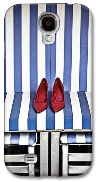 Shoes In A Beach Chair Galaxy S4 Case