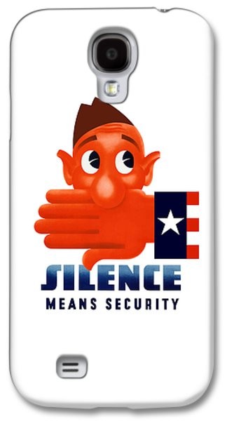 Silence Means Security Galaxy S4 Case by War Is Hell Store