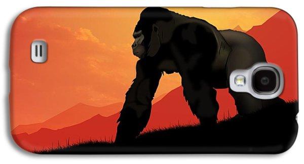 Silverback Gorilla Galaxy S4 Case