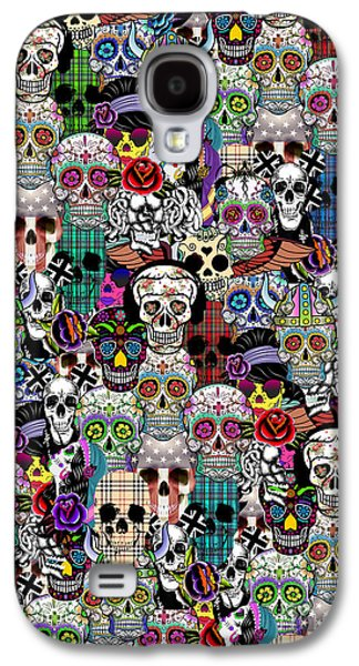 Halloween Galaxy S4 Case by Mark Ashkenazi