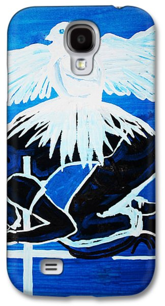 Slain In The Holy Spirit Galaxy S4 Case