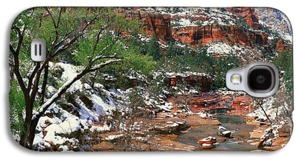 Slide Rock Creek In Wintertime, Sedona Galaxy S4 Case
