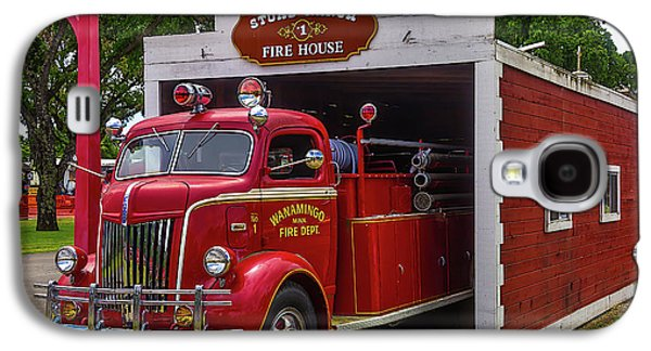 Small Fire House 1 Galaxy S4 Case by Garry Gay