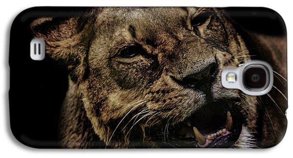 Orangutan Galaxy S4 Case - Orangutan Smile by Martin Newman