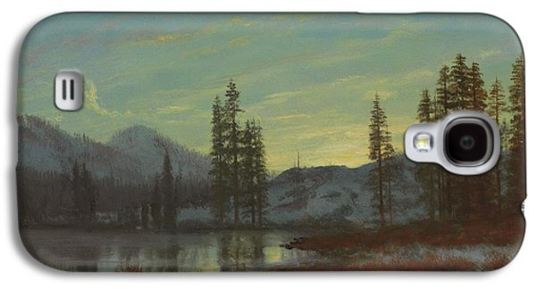 Snow In The Rockies Galaxy S4 Case