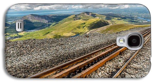 Snowdon Mountain Railway Galaxy S4 Case by Adrian Evans