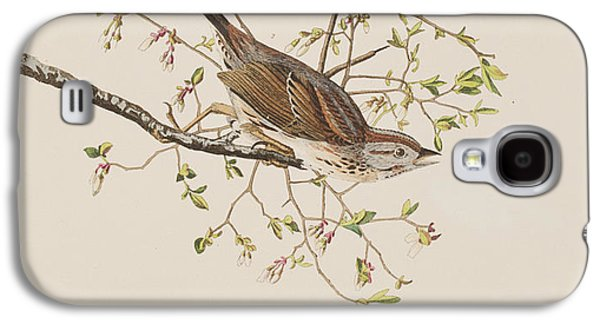 Song Sparrow Galaxy S4 Case by John James Audubon