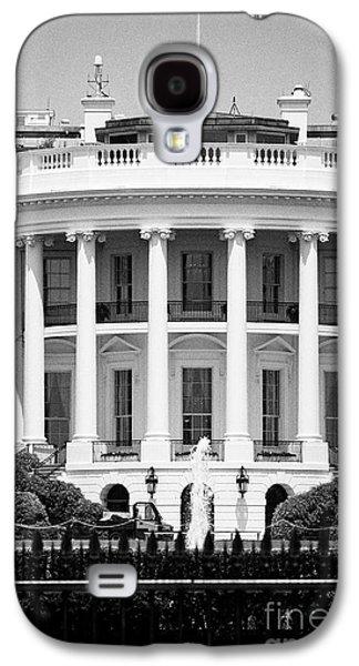 south facade of the white house Washington DC USA Galaxy S4 Case by Joe Fox