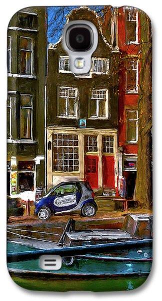 Spiegelgracht 6. Amsterdam Galaxy S4 Case by Juan Carlos Ferro Duque