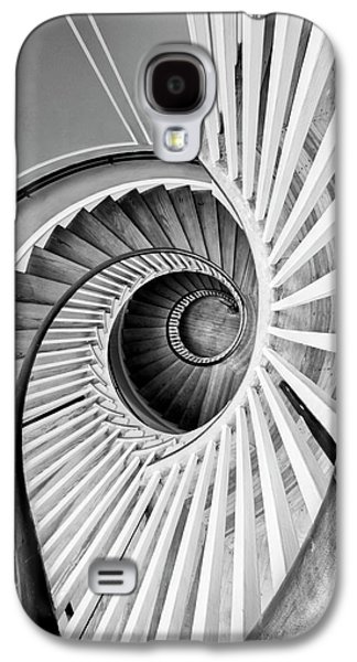 Staircase Galaxy S4 Cases - Spiral Staircase Lowndes Grove Galaxy S4 Case by Dustin K Ryan