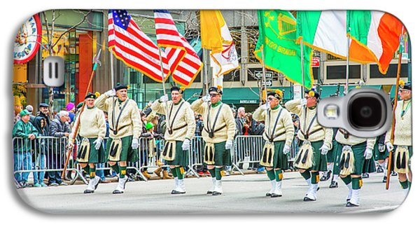 St. Patrick Day Parade In New York Galaxy S4 Case