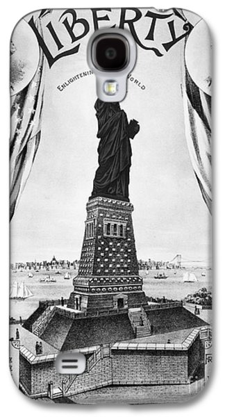 Statue Of Liberty, 1885 Galaxy S4 Case