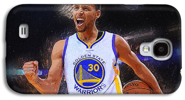 Stephen Curry Galaxy S4 Case by Semih Yurdabak