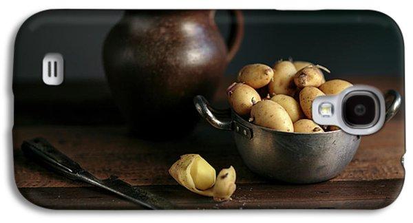 Potato Galaxy S4 Case - Still Life With Potatoes by Nailia Schwarz