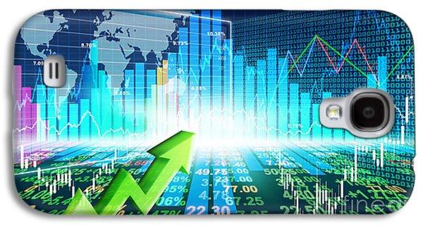 Stock Market Concept Galaxy S4 Case
