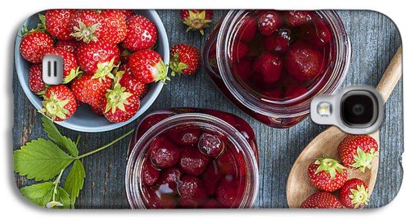 Strawberry Preserve Galaxy S4 Case by Elena Elisseeva