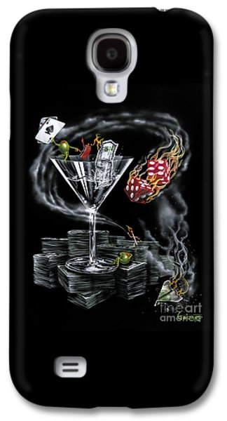 Martini Galaxy S4 Case - Strike It Rich by Michael Godard