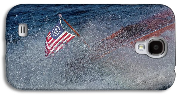 Studio Red White Blue Galaxy S4 Case by Steven Lapkin