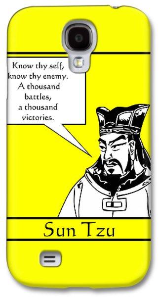 Sun Tzu Galaxy S4 Case by War Is Hell Store
