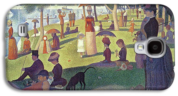 Sunday Afternoon On The Island Of La Grande Jatte Galaxy S4 Case by Georges Pierre Seurat