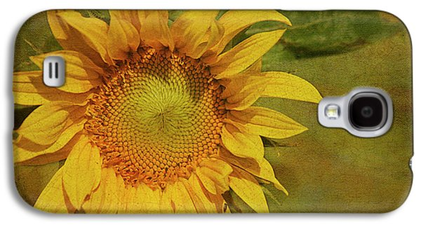 Sunflower Galaxy S4 Case - Sunflower by Cindi Ressler