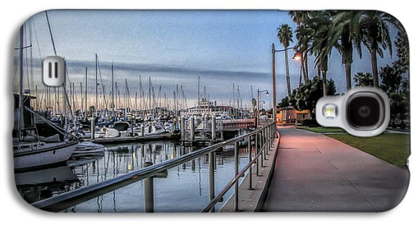 Sunrise Over Santa Barbara Marina Galaxy S4 Case by Tom Mc Nemar