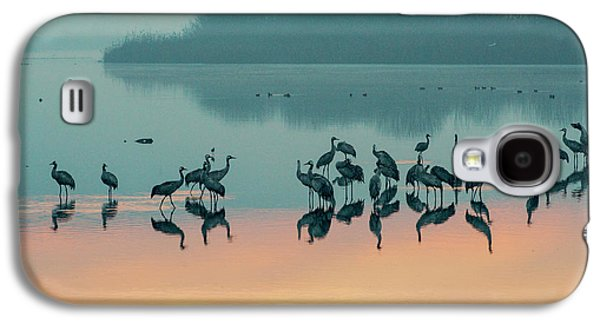 Sunrise Over The Hula Valley Galaxy S4 Case