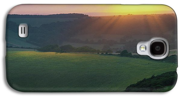 Sunset Over The South Downs Galaxy S4 Case