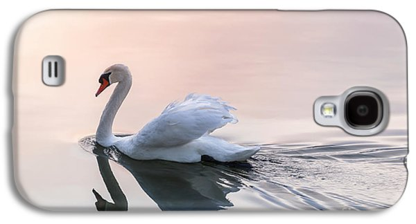 Sunset Swan Galaxy S4 Case by Elena Elisseeva