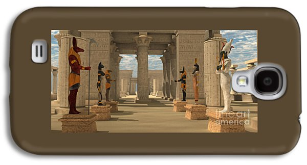 Temple Of Ancient Pharaohs Galaxy S4 Case