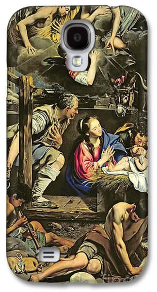 The Adoration Of The Shepherds Galaxy S4 Case