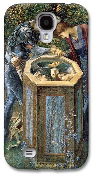 The Baleful Head Galaxy S4 Case by Edward Burne-Jones