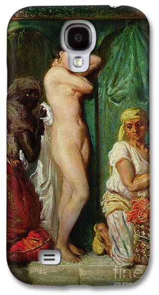 The Bath In The Harem Galaxy S4 Case by Theodore Chasseriau