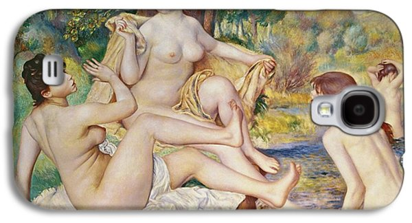 The Bathers Galaxy S4 Case by Pierre Auguste Renoir