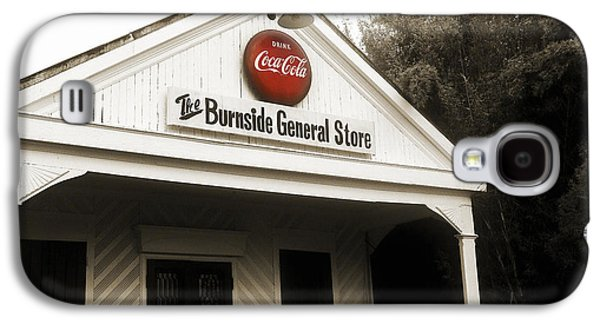 Country Store Galaxy S4 Cases - The Burnside General Store Galaxy S4 Case by Scott Pellegrin