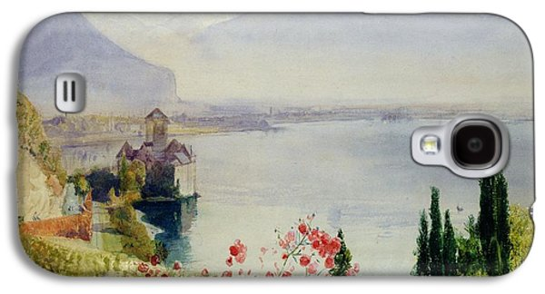 The Castle At Chillon Galaxy S4 Case by John William Inchbold