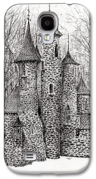 The Castle In The Forest Of Findhorn Galaxy S4 Case