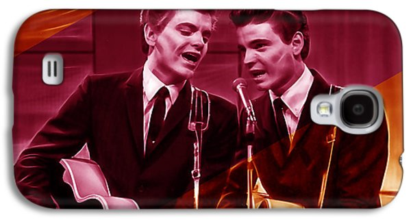 The Everly Brothers Collection Galaxy S4 Case by Marvin Blaine