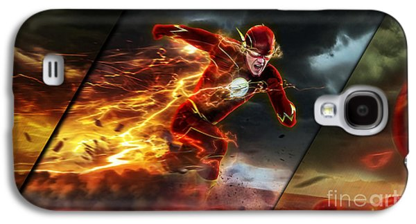 The Flash Collection Galaxy S4 Case by Marvin Blaine