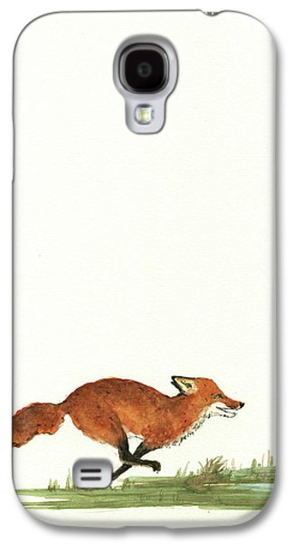 Pelican Galaxy S4 Case - The Fox And The Pelicans by Juan Bosco