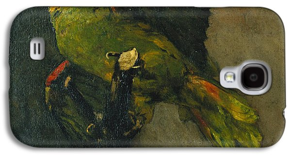 The Green Parrot Galaxy S4 Case by Vincent Van Gogh