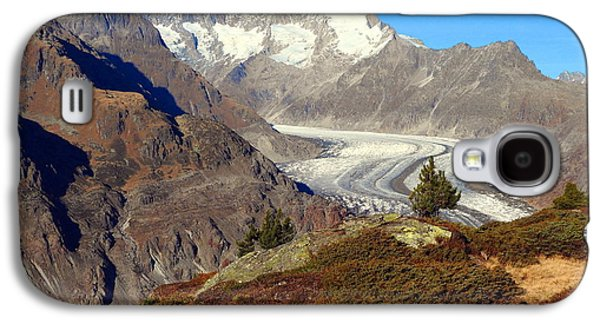 The Large Aletsch Glacier In Switzerland Galaxy S4 Case