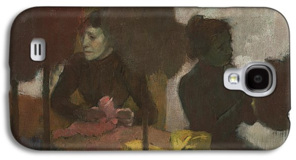 The Milliners Galaxy S4 Case by Edgar Degas