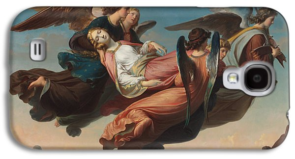 The Miraculous Translation Of The Body Of Saint Catherine Of Alexandria To Sinai Galaxy S4 Case