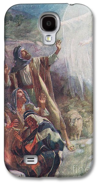 Shock Galaxy S4 Case - The Nativity by Harold Copping