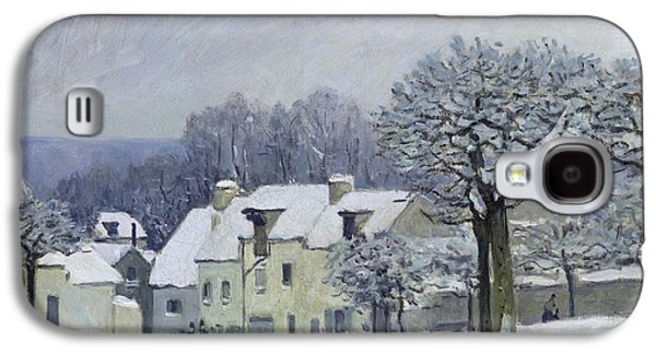The Place Du Chenil At Marly Le Roi Galaxy S4 Case by Alfred Sisley